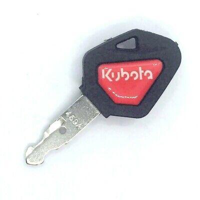 Kubota Skid Steer Track Loader Mini Excavator Ignition Key With Red Logo 459a