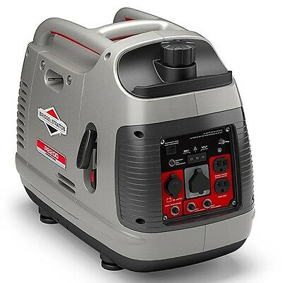 Briggs & Stratton 30651 P2200 PowerSmart Portable 2200-Watt Inverter Generator