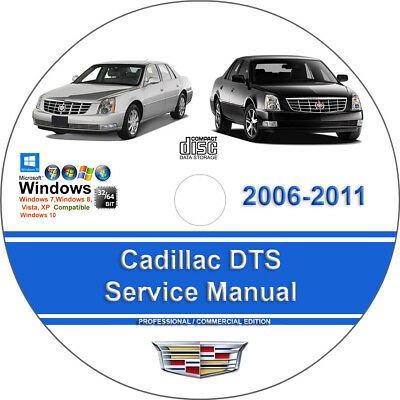 Cadillac DTS 2006 2007 2008 2009 2010 2011 Factory Service Repair Manual