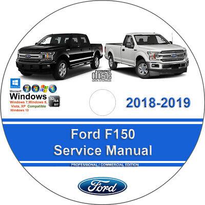 Ford F150 2018 2019 Factory Workshop Service Repair Manual