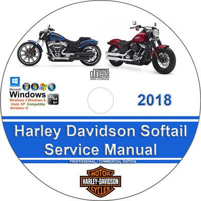 Harley Davidson Softail 2018 Factory Workshop Service Repair Manual