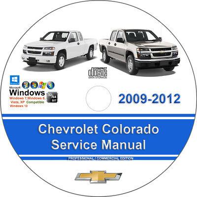 Chevrolet Colorado 2009 2010 2011 2012 Factory Workshop Service Repair Manual
