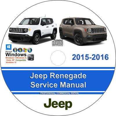 Jeep Renegade 2015 2016 1 6L 2 0L 2 4L Factory Workshop Service Repair Manual