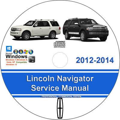Lincoln Navigator 2012 2013 2014 Factory Workshop Service Repair Manual