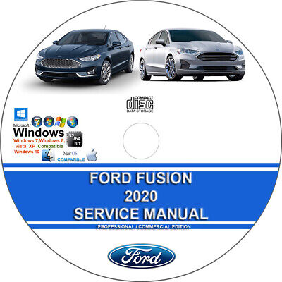 Ford Fusion 2020 Factory Workshop Service Repair Manual + Wiring on CD