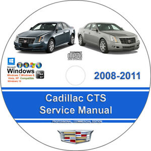 Cadillac cts repair manual ebay cadillac cts 2008 2009 2010 2011 factory workshop service repair manual fandeluxe Image collections