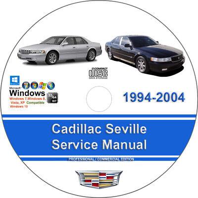 Cadillac Seville 1998 1999 2000 2001 2002 2003 2004 Service Repair Manual