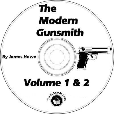 The Modern Gunsmith Volume 1 & 2 Vintage Books on CD