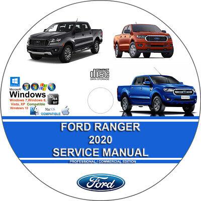 Ford Ranger 2020 Factory Workshop Service Repair Manual on CD