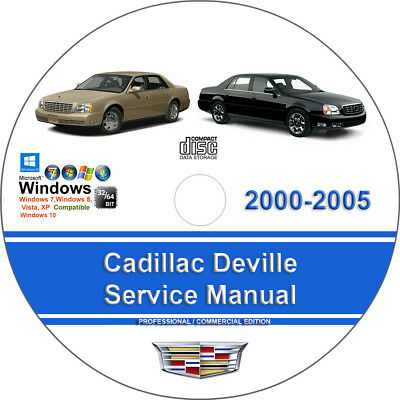 Cadillac Deville 2000 2001 2002 2003 2004 2005 Factory Service Repair Manual