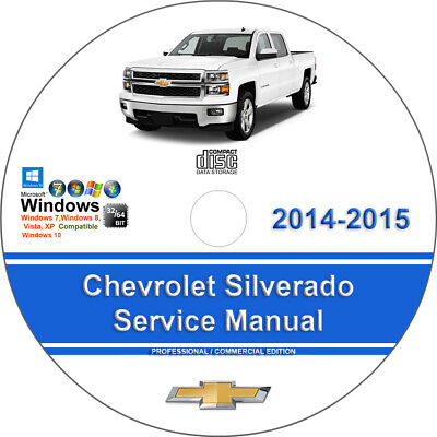 Chevrolet Silverado 1500 2014-2015 Factory Workshop Service Repair Manual
