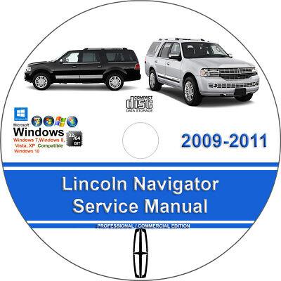Lincoln Navigator 2009 2010 2011 Factory Workshop Service Repair Manual ()