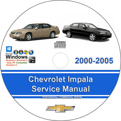 Chevrolet Impala 2000 2001 2002 2003 2004 2005 Factory Service Repair Manual