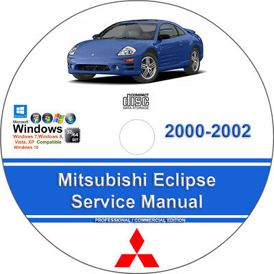Mitsubishi Eclipse 2000-2002 Factory Workshop Service Repair Manual