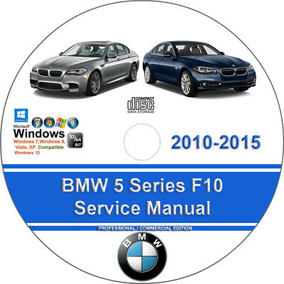 BMW F10 5 Series 2010 2011 2012 2013 2014 2015 Factory Service Repair Manual