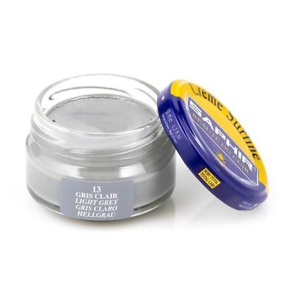 Saphir Shoe Cream 50ml. Jar LIGHT GREY Clothing & Shoe Care