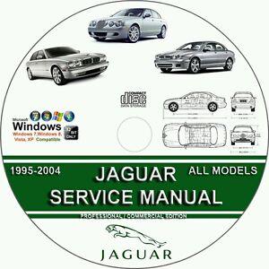 Jaguar XJ6  XJ8  XK8  XJ  XJR Series TIS JTIS Service Repair Manual on CD