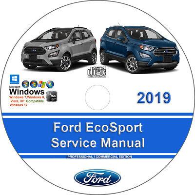 Ford EcoSport 2019 Factory Workshop Service Repair Manual