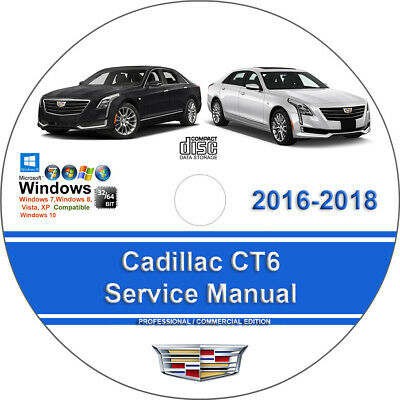 Cadillac CT6 2016 2017 2018 Factory Workshop Service Repair Manual