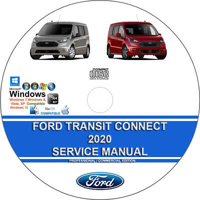 Ford Transit Connect 2020 Factory Workshop Service Repair Manual + Wiring on CD