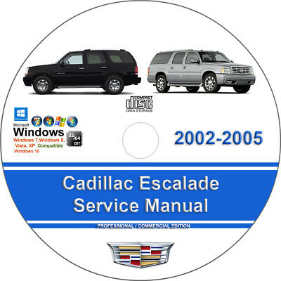 Cadillac Escalade 2002 2003 2004 2005 Factory Workshop Service Repair Manual
