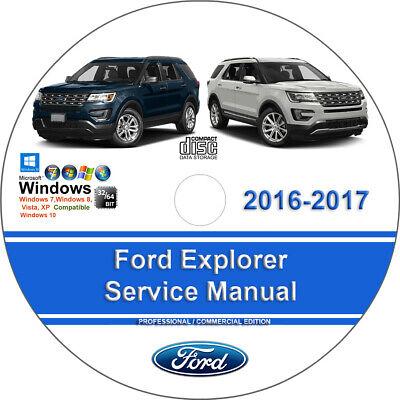 Ford Explorer 2016 2017 Factory Workshop Service Repair Manual ()