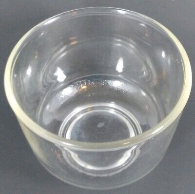 Vintage Sunbeam Mixmaster Oster Kitchen Center Small Glass Mixing Bowl