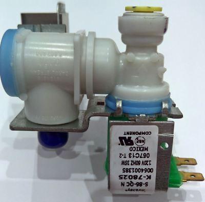 NEW Invensys Universal Refrigerator Ice Maker Water Valve K-78025, S-86-QC N