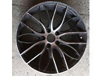 Alloy wheel repair fix refurbish paint straighten repaint strip dent weld colour change