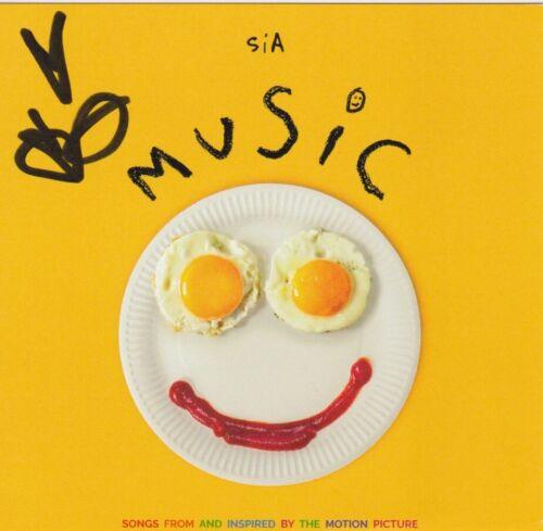 Sia signed Music cd