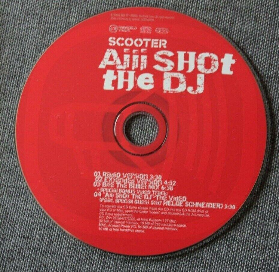 Scooter, aiii shot the dj, maxi cd