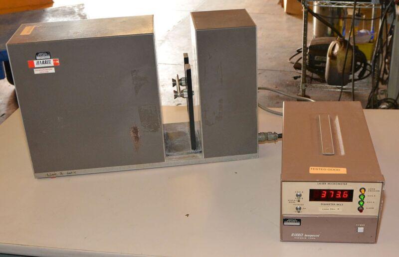 Harrel Geartruder Surgical Tubing Extruder Laser Micrometer LS212C