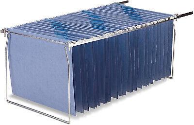 Office File Folder Frame Hanging Letter Size Holder Drawer Cabinet Rack 2 Pack