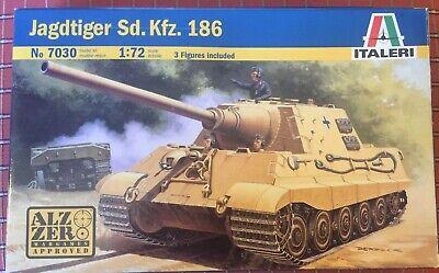 1/72 20mm Jagdtiger Sd.Kfz. 186 model Italeri 7030