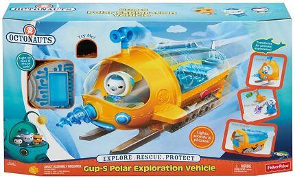 BRAND NEW Octonauts Gup S Polar Exploration (Kids Xmas Gift)