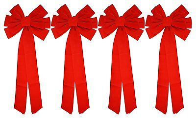 Red Velvet Christmas Bows 26