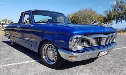 XP Ford Falcon V8 Ute 1966 Bundall Gold Coast City Preview