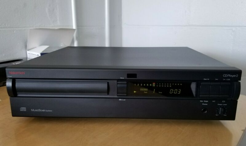 Vintage Nakamichi CD Player 2 Audiophile CD Player