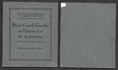 Old Florida Postcard - St. Augustine - Booklet with Detachable Cards