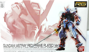 Tokyo C3 Expo LIMITED RG 1/144 GUNDAM ASTRAY RED FRAME PLATED