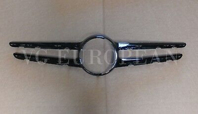 Mercedes Benz Genuine W205 C-Class Front Grille Cover Trim Black Night Package