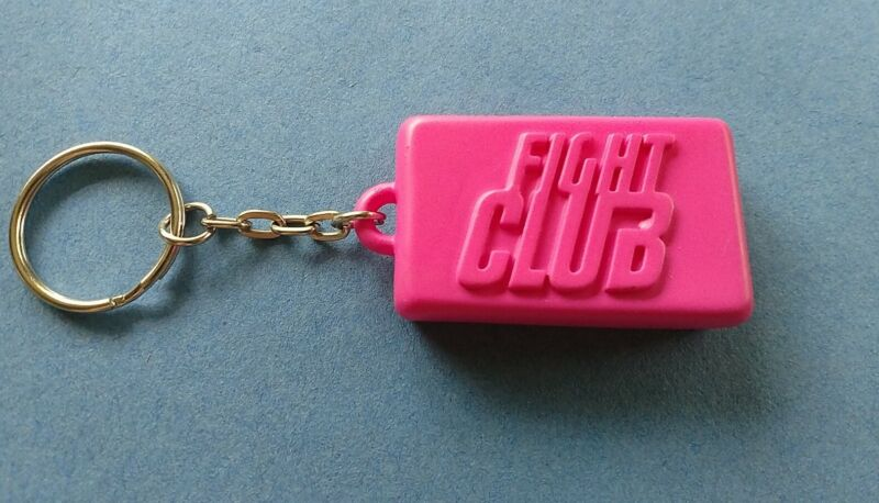 Loot Crate Exclusive Fight Club Keychain