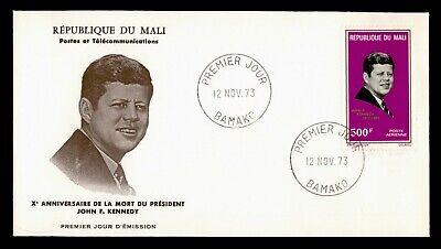 DR WHO 1973 MALI FDC JFK JOHN F KENNEDY AIRMAIL  C239832