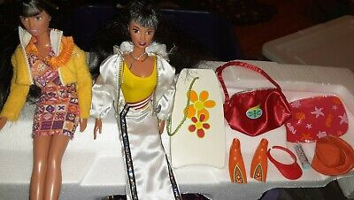 Generation Girl Ana Dolls lot of 2 with Clothes And Accessories