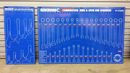 Kincrome tool garage display boards Sidchrome Snap On Stahlwille