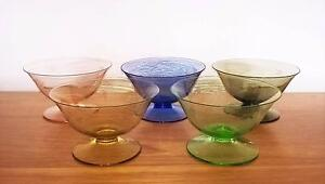 Vintage Harlequin Glass Bowls Dishes Golden Grove Tea Tree Gully Area Preview
