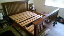 Wooden Bed Frame and Mattress Elwood Port Phillip Preview