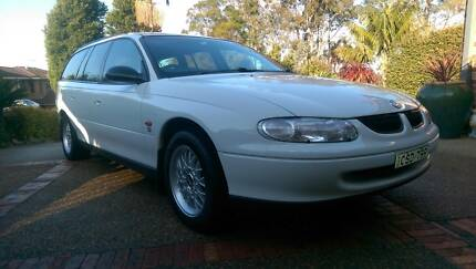1997 VT HOLDEN COMMODORE 5 SPEED MANUAL WAGON - RARE- BBS Mount Colah Hornsby Area Preview