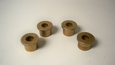 *NEW* Warn Winch 30863 Fairlead Flanged Bronze Bushing (Qty 4)