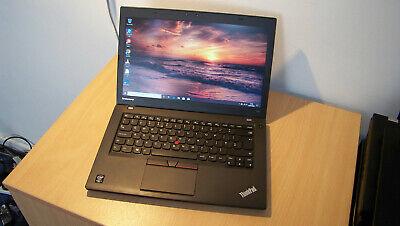 Fast Lenovo Thinkpad T450 Business Laptop i7-5600U CPU 16GB RAM 512GB SSD Win 10